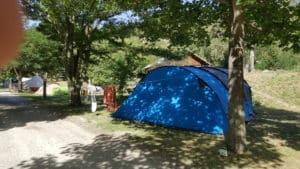 Emplacement tente Camping New Rabioux 3 étoiles Alpes du Sud Serre Ponçon Durance