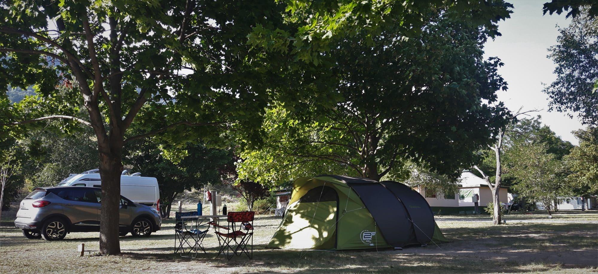 Camping New Rabioux 3 étoiles Alpes du Sud Serre Ponçon Durance