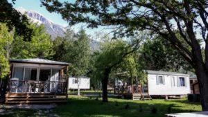 Mobil Homes - Serre Ponçon Camping New Rabioux Châteauroux les Alpes Serre Ponçon Hautes Alpes