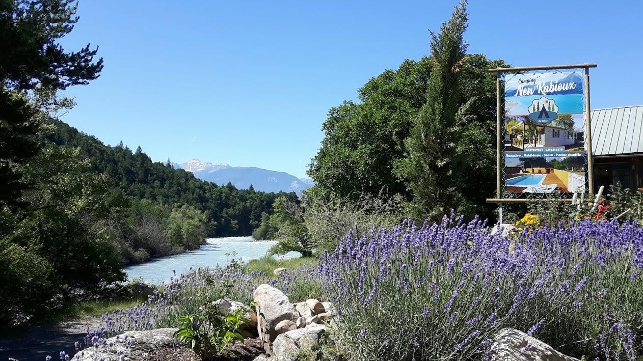 Accueil Camping New Rabioux 3 étoiles Alpes du Sud Serre Ponçon Durance